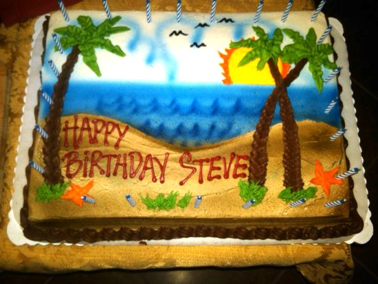 Happy Birthday Steve Cake Images